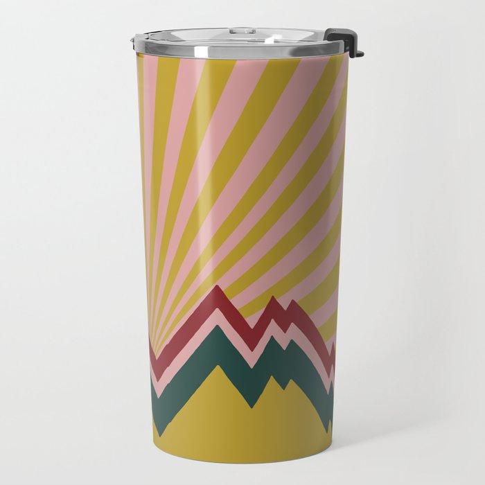 Karma Mountains Travel Mug
