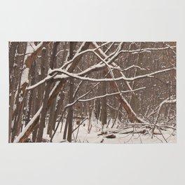 Woodland Winter Rug
