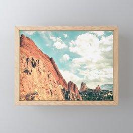 Garden of the Gods Framed Mini Art Print
