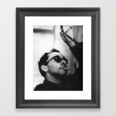 Jean-Luc Godard Framed Art Print