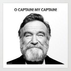 O Captain! My Captain! Art Print