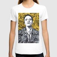 tarantino T-shirts featuring Tarantino by Matthew Brazier Illustration