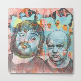 Tenacious D - This Is Just A Tribute, To The Greatest Band In The World Metal Print