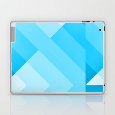 Turquoise blue  Gradient Laptop & iPad Skin