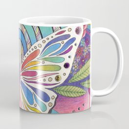 """Butterfly Nectar"" by Aly Stinson Coffee Mug"