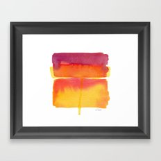 Color Field No. 5 Framed Art Print