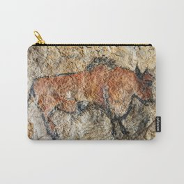 Cave painting in prehistoric style Carry-All Pouch