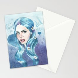 Young & in love Stationery Cards