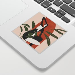 Abstract Female Figure 20 Sticker