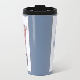 Tony and Bucky Pinups Travel Mug