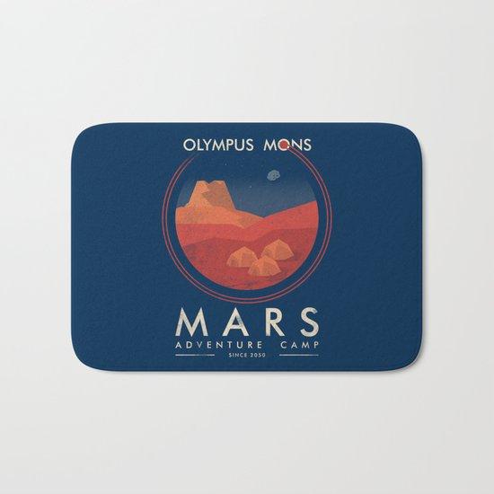 Mars Camp Bath Mat