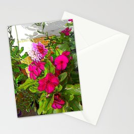 Mixed Annuals Stationery Cards