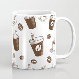 Modern Coffee Patern Coffee Mug