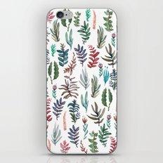 water color garden iPhone & iPod Skin