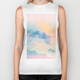 Unicorn Pastel Clouds #6 #decor #art #society6 Biker Tank