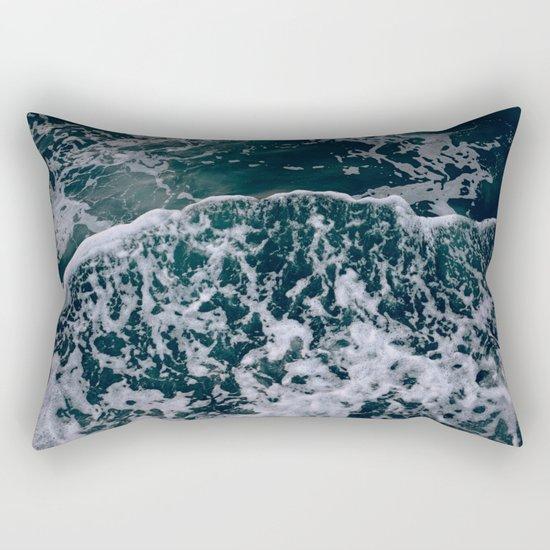 Waves and me Rectangular Pillow
