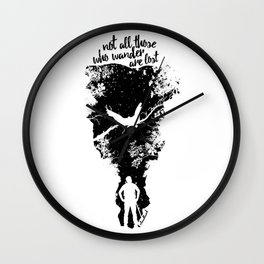 Not Lost Wall Clock