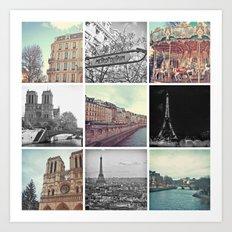 Paris 2012 Art Print