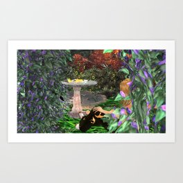 Cult of Youth: Corruption Sourse Art Print