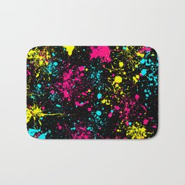 Splatter Art Bath Mat