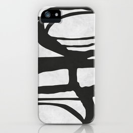 Expressionist lines II iPhone Case