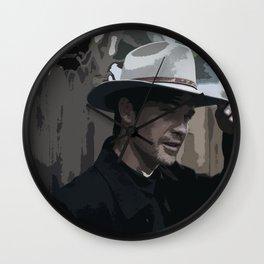 Raylan Givens 6 Wall Clock
