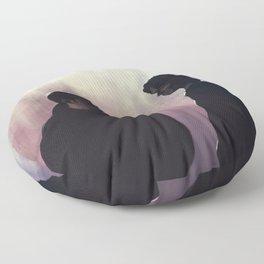 Young men dead Floor Pillow