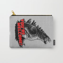 Gojira '14: You're Welcome! Carry-All Pouch