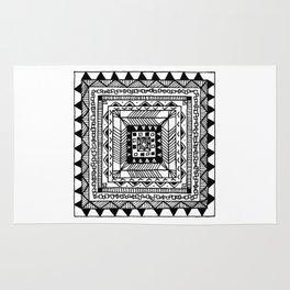 Square Pattern Rug