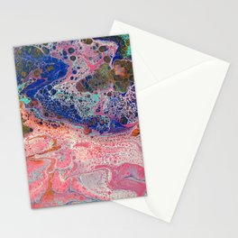 Flamingos by the Sea Stationery Cards