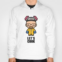 cook Hoodies featuring Let's Cook by Papyroo