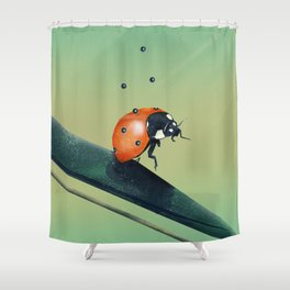 Oh, Bugger (Spring Version) Shower Curtain