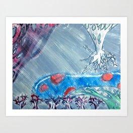 Time in Tears Art Print