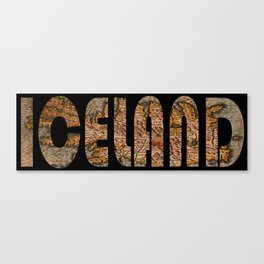 Iceland 1632 Canvas Print