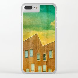 Metaphysical Landscape Clear iPhone Case