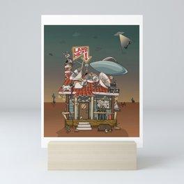 Wish You Were Here Mini Art Print