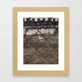 The Silver Hobby Horse 4 Framed Art Print