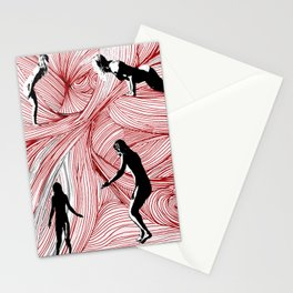 Red Hand Stationery Cards