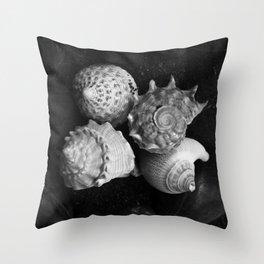 Shell No.5 Throw Pillow