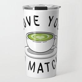 Matcha Love Travel Mug