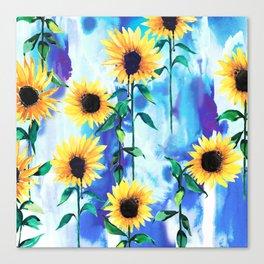 Sunflower Sky Canvas Print