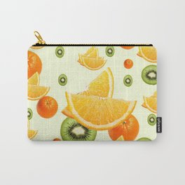 TROPICAL KIWI-ORANGES KITCHEN ART Carry-All Pouch