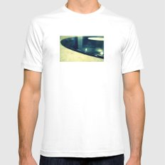 Record Mens Fitted Tee White SMALL