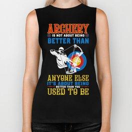 Archery Shirt For Grandson. Gift Ideas Biker Tank