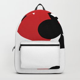 """A Nice Spend Tee For A Wealthy You Saying """"One Can Never Spend Too Much Time Playing Bridge"""" T-shirt Backpack"""