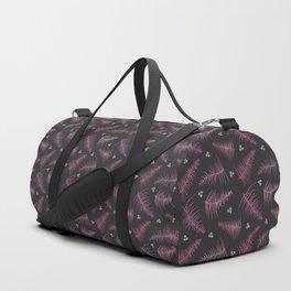 Ombré Fronds & Berries in Pink Duffle Bag