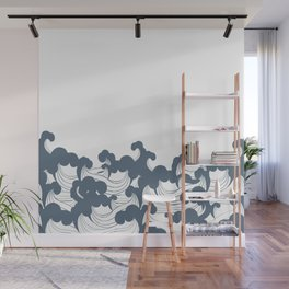 Japanesse Wave Wall Mural