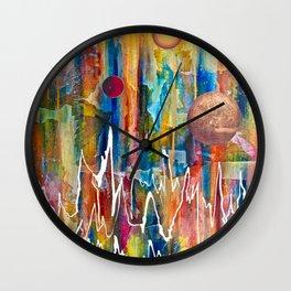 Utopian Dreamscape Wall Clock