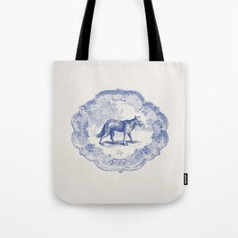 DelftWare Wolf Tote Bag