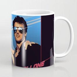 80s Stallone synthwave Coffee Mug